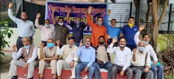 almora-people-protest-against-vikas-pradhikaran